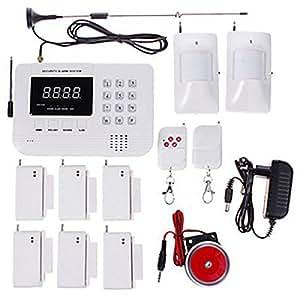 315MHz/433MHz sans fil GSM/PNTS/SMS et des appels vocaux Autodial la maison/le bureau/Shop système d'alarme de sécurité