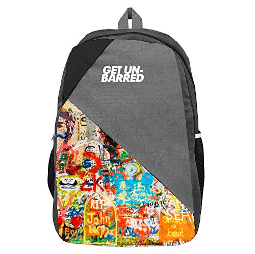 MUFUBU Unisex 25 L Polyester Casual Backpack with Multicolour Pattern