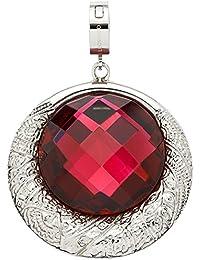Leonardo Damen- Anhänger Darlin's Gradevole Edelstahl Glas rot - 015514