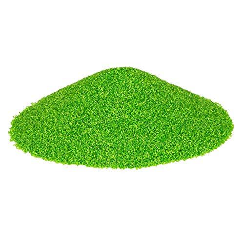 NaDeco Dekosand Brilliant sgrün 0.1-0.5mm 425ml   grüner Farbsand   Zierkies grün   Dekokies in grün   grüner Quarzsand   Streusand   Farbiger Deko Sand
