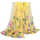Moda Mujeres largo suave de la bufanda,Longra mantón de las señoras de pañuelo de gasa