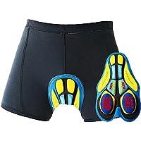 Oleein Calzoncillos Ropa Interior Ciclismo Pantalones Interiores Ciclismo Pantalones Cortos y Ligeros con 3D Gel