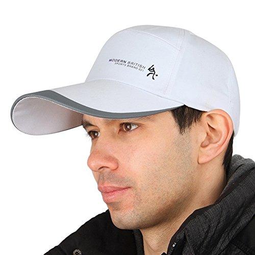 Kuyou - Casquette de Baseball - Homme blanc Weiß taille unique Weiß #1