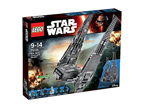 75104-Lego-Kylo-RenS-Command-Shuttle-Star-Wars-Age-9-14-1005-Pcs-New-2015