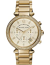 Michael Kors Analog Gold Dial Women's Watch - MK5354