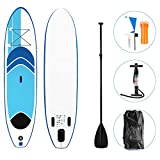 Froadp Surfboards Set SUP Boards Aufblasbare Boards für Stand-Up Paddling Paddelbrett inkl. Paddel...