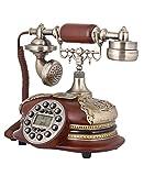 JapanAttitude Telefon Marineblau Viktorianischer Luxuriöse Steampunk Vintage Retro
