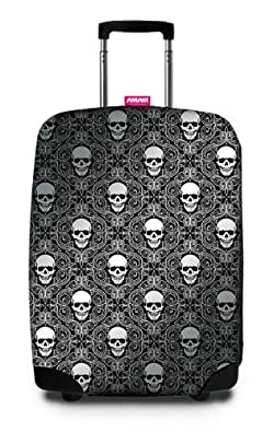 SuitSuit - Silver Skulls - Suitcase cover