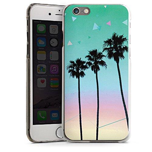 Apple iPhone 5s Housse Étui Protection Coque Palmiers Vacances Voyage CasDur transparent