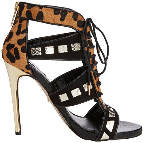 Carvela - Giraffe, Sandali Donna Nero (Black (Black/Comb))