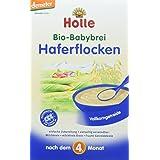 Holle Bio-Babybrei Haferflocken, 3er Pack (3 x 250 g)
