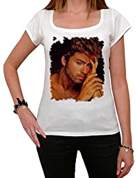 George Michael H Melrose Tshirt, George Michael Tshirt, Femme Tshirt cadeau
