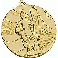 JoGo Medaille D=50mm St.Florian (Ritter) goldfarben