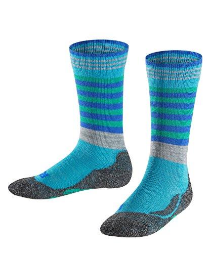 FALKE Jungen Socken Frog, Turquoise, 39-42
