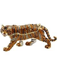 Treasured Trinkets Tiger Trinket Box
