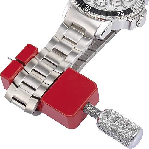 TOOLCRAFT Profi Stiftausdrücker für UhrenArmbänder mit Ersatzstifte