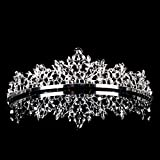 Topwedding Rhinestones Bridal Wedding Headpiece Tiara, women Bild 3