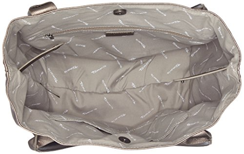 Tamaris - Louise Shopping Bag /Pack 4 Pcs, Borse a secchiello Donna Grigio (Pewter)