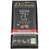 Chocolat noir bio saveur café sans gluten 70 g 33.57€/kg