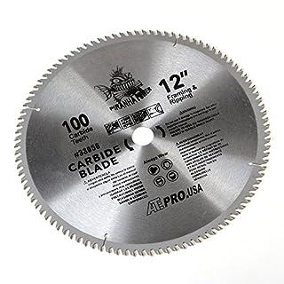 ATE Pro. USA 33056 Carbide Saw Blade, 12