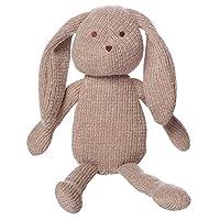 "Manhattan Toy Clover Knit Fabric Bunny Stuffed Animal, 8"""