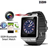 Drumstone Silver DZ09 Bluetooth Smart Watch With Camera And Sim Card & Sd Card slot With S530 Bluetooth V4.0 In-ear Stereo Headset