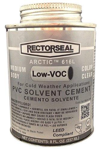 rectorseal-55909-1-2-pint-dauber-top-arctic-616l-low-voc-pvc-solvent-cement