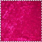 Elastic-Samt, uni, pink, 150 cm breit, Meterware