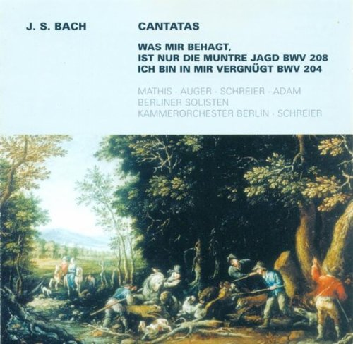 Bin Auger (Ich bin in mir vergnugt, BWV 204: Aria: Ruhig und in sich zufrieden)