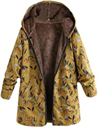 Damen Winter Jacke Warm Parka Winter Lang Mantel mit Kapuze 46-54 B1057