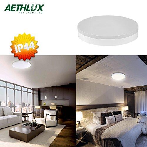 Aethlux® Sehr Hell 18W 1200LM 4500K IP44 Naturweiß Rund Wand-Deckenleuchte(Typ-A)