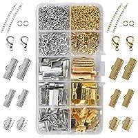 DIYARTS 6 Farbe 1080 St/ücke 6mm Offene Biegeringe Aluminium Stecker Schleife f/ür Reparatur Machen Halskette Armband Schmuck #1