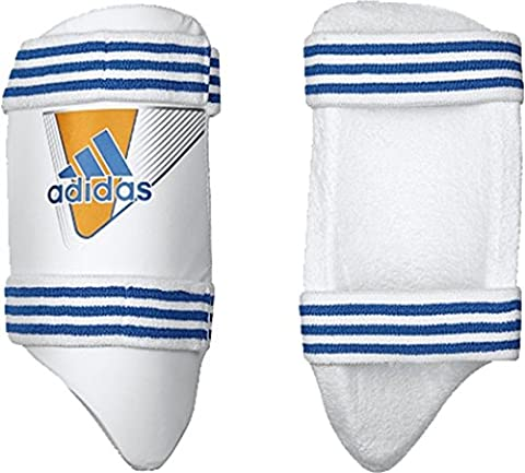 Adidas Pro Cricket Sports Batsman jambe protection intérieure Pad cuisse Guard pour homme, blanc/orange, Right Hand Mens