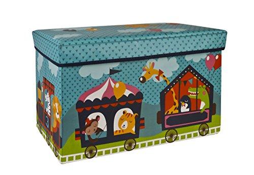Pusher Circus Scatola delle Meraviglie, Plastica, Multicolore, 34X74X4 Cm