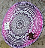 faroot Indian Vintage Round Tapestry Wall Hanging Beach