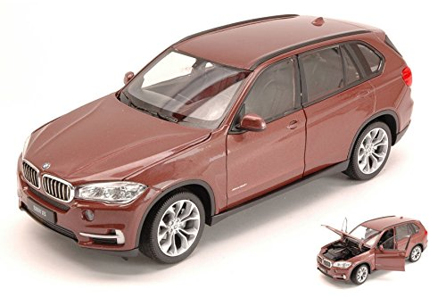 BMW X5 (F15) 3rd GENERATION 2013 METALLIC BROWN 1:24 Welly Auto Stradali modello modellino die cast