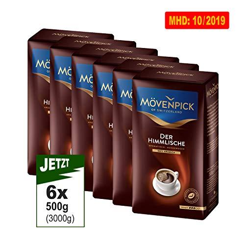 Mövenpick Cafe Der Himmlische, gemahlen 12x 500g (6000g) - Premium Kaffee