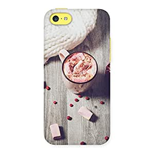 Neo World Marshmallow Coffee Back Case Cover for iPhone 5C