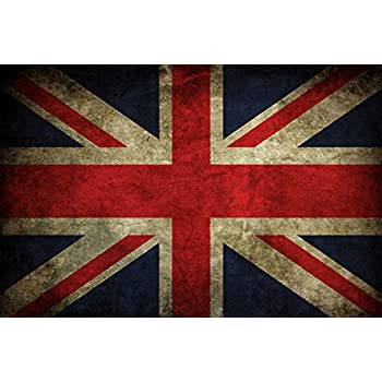 A4 A3 A2 A1 A0| Union Jack British Flag Poster Print T268