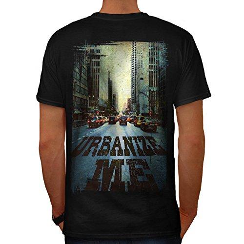 Urbanisieren Mich Stadt Mode Straße Fahrt Herren M T-shirt Zurück | (Kostüme Leder Fahrt)