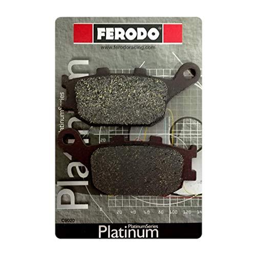 Coppia pastiglie freno posteriori platino Ferodo FDB754P H onda CB 600 F Hornet