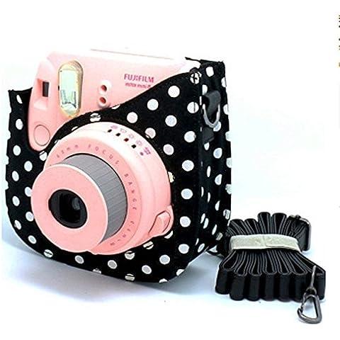 Gearmax® Bolsa de Funda Protectora para Fujifilm Instax Mini 8 Cámara Cuero Sintético