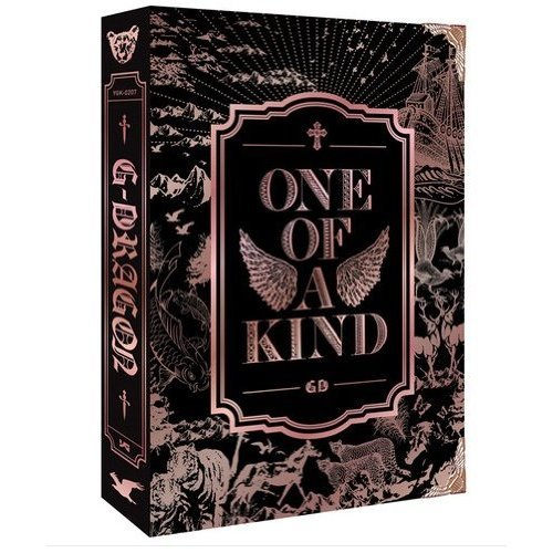 G-DRAGON GD ONE OF A KIND FIRST MINI ALBUM BRONZE EDITION (One Kind Von G-dragon Of A)