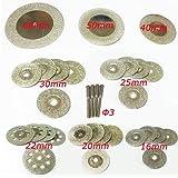 Disque de Coupe de Diamant Mini Meule de Meulage Lame de Scie Circulaire pour Outil Rotatif