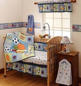 lambs ivy betten set 4 st ck super sport baby. Black Bedroom Furniture Sets. Home Design Ideas