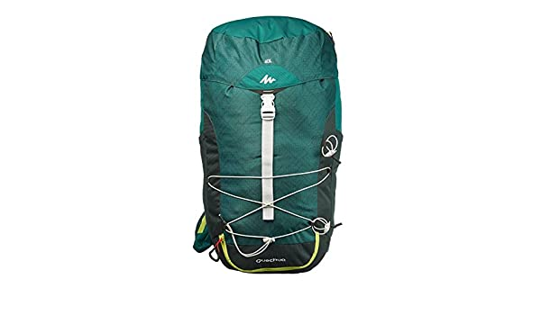81016ccd40c QUECHUA MH100 30L HIKING BACKPACK - BLACK: Amazon.co.uk: Sports & Outdoors