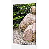 wandmotiv24 Jardín japonés de Piedra Zen Wandgarderobe M1036 Armario Retrato - 55x100 (W x H