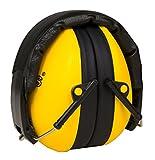 KiddyPlugs Gehörschutz für Kinder & Jugendliche | Kompakt, Komfortabel und Faltbarer Gehörschützer | Verstellbarer Ohrschützer - Mitwachsend | Ideal für Kinder ab 2 bis 12 Jahre | Farbe: Gelb