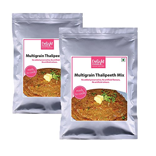 Delight Foods Multigrain Thalipeeth Mix – 180gm