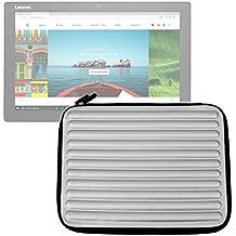 """DURAGADGET Funda Gris Con Espuma de Memoria """"Memory Foam"""" Para Tablet Lenovo Miix 720 - ¡Protección Ideal!"""